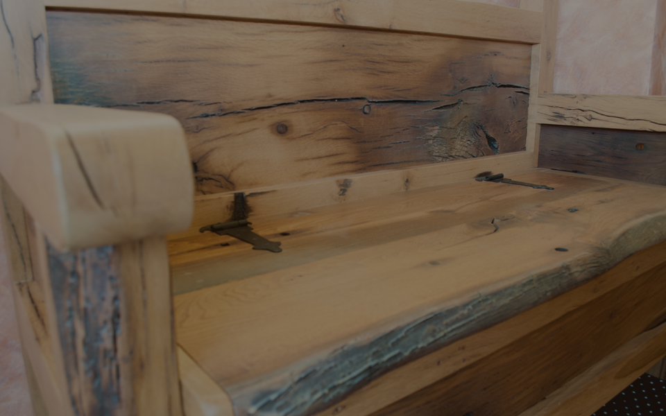 Bancos de madera rusticos with bancos de madera rusticos banqueta de madera estilo rstico - Banco de madera rustico ...
