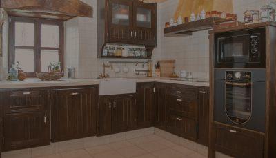 Cocina madera rústica vintage – Muebles rústicos Bierzo – Muebles ...
